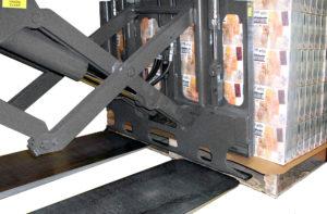 Slip sheet handling